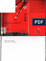 Li Qingzhao - Poemas escogidos (Español)