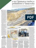 Cajamarca y Sus Conflictos Mineros