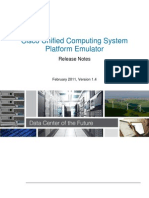 Cisco UCSPE v1.4 Release Notes