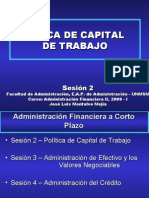 Politicia Capital Traabajo