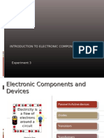 Introduction to Electronic Components