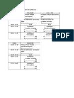 Simulasi Jadwal MPP 2013