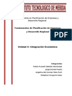 E2 - Integración Económica