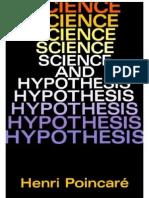 Poincaré - Science and Hypothesis