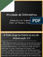 Análise livro O Mundo é Plano - Felipe/Mileto