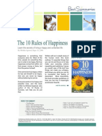 The 10 Rules of Happiness