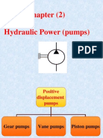 (5) Hydraulic Pumps II