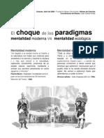 El Choque de Paradigmas en El Museo de Ciencias de Venezuela- 2008-Juan Carlos Flores