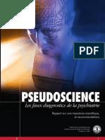 Pseudoscience Les Faux Diagnostics de La Psychiatrie DSM Et Marketing de La Folie