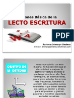 LECTO ESCRITURA acento