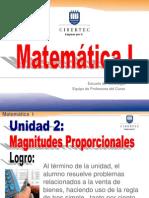 2013-I Ppt Magnitudes Proporcionales-Unidad II (0143)