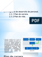 Plan de Vida y Carrera