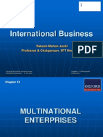 288 33 Powerpoint Slides Chapter 13 Multinational Enterprises