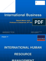 288 33 Powerpoint Slides Chapter 17 International Human Resource Management