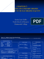 leveraging secondary brand knowledge