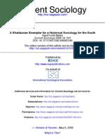 Alatas 2006 Khaldun Sociology of South