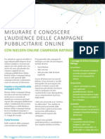 Nielsen Online Campaign Ratings // Italia