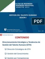 PPT Gestion Talento Humano SESION I