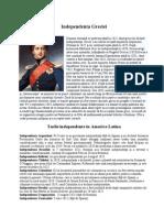 Independenta Greciei; Tarile independente in America Latina