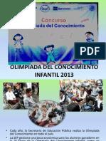 Olimpiada Del Conocimiento Infantil 2013