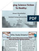 Dream Visulization & Assisted Computational Memory