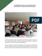 Zrc-opcion Para Los Campesinos de Arauca