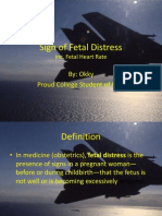Sign of Fetal Distress