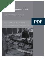 Prevencion Accidentes Caso Desastres (Personal Salud)