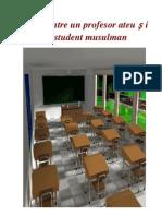 ΑΡ- Dialog între un profesor ateu și un student musulman