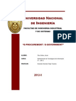 E Procurement E Government