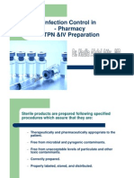 Infection Control in Pharmacy