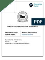 Interim Report - apollo tyres