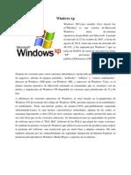 Trabajo de Los Diferentes Windows