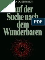 P.D. Ouspensky - Auf Der Suche Nach Dem Wunderbaren