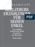 G.I. Gurdjieff - Beelzebubs Erzählungen für seinen Enkel - Buch III