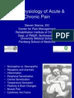 1 Pathophysiology Acute Chronic Pain