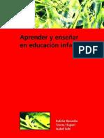 Aprender y enseñar en educación infantil