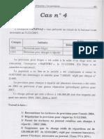 Les travaux de fin d'exercice  les provisions cas n 4