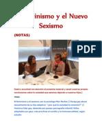 El Feminismo y el Nuevo Sexismo