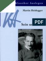 Martin Heidegger, Sein Und Zeit