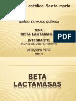 Beta Lactamasas