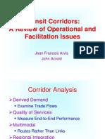 Transit Corridors