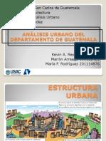 Analisis Urbano Del Departamento de Guatemala