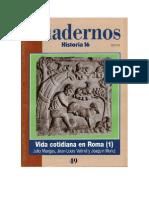 Cuadernos H. 16 - 049 - Vida Cotidiana en Roma 1