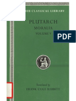 Plutarch Plutarch Moralia, Volume v, Isis and Osiris. the E at Delphi. the Oracles at Delphi No Longer Given in Verse. the Obsolescence of Oracles.