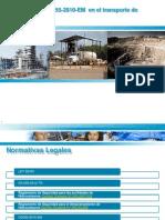 Exposicion DS055 en Hidrocarburos