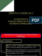 Direito Comercial i - Aula II