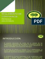 Extracto Reglamento de Convivencia 2013