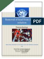 Term Prorject Nano Report