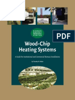Biomass woodchip heating system